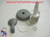 "Diverter Valve 4"" Kit Sundance® Sweetwater Spa O-Rings Stem Cap Handle Hot Tub"