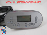 Balboa MAAX Spa Hot Tub Topside Audio Display 9 Button MSR 2007 Control