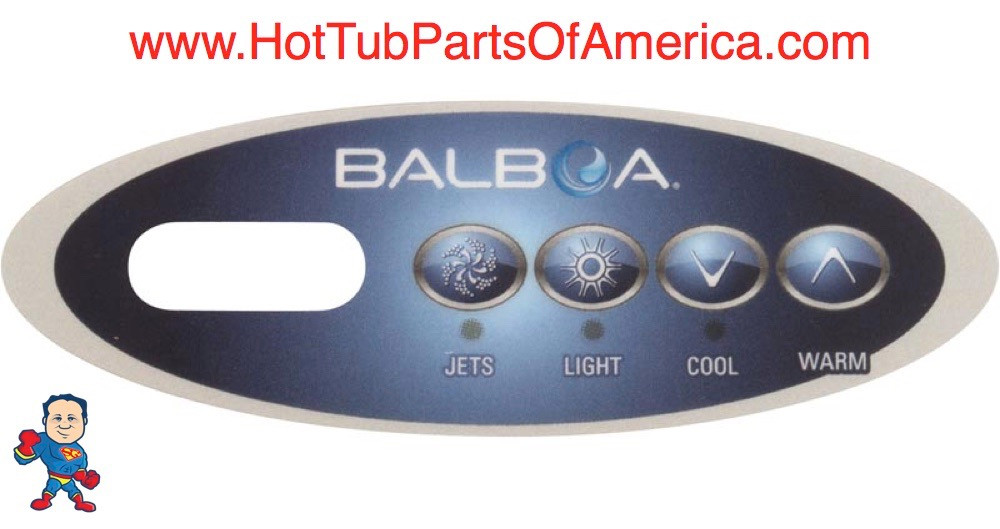 Balboa Hot Tub >> Overlay Balboa Topside 4 Button Spa Hot Tub 12 11852 Mini Oval