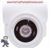 "Body, Pentair American Products Luxury Micro, Air 1/2""slip x Water 1""slip"