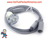 "LED Light, Sloan, 7 LED, Sequencing, 12V w/36"" Daisy Chain Cable"