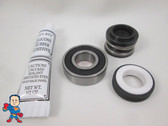 Spa Hot Tub Pump Seal & (1) Bearing Kit for 2.5HP Pump that fits Intertek 2009+ Jacuzzi®  Premium or Sundance® Video How To