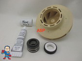 Spa Hot Tub Pump 2.5HP Impeller & Seal Kit May 2009+ Jacuzzi®  Premium or Sundance® Video How To