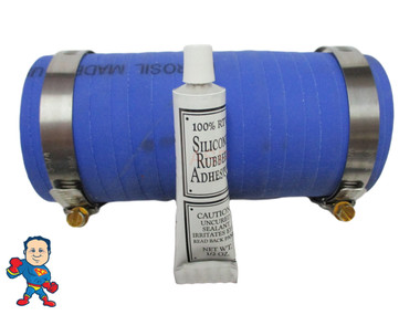 "Hot Tub Spa 6"" RADKit® 2"" Fitting Outside Coupler Kit Plumbing PVC Fitting  Most 2"" Fittings measure about 2 11/16"" Outside Diameter..."