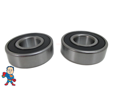 Set of (2) Motor Bearing Deluxe High Quality 6203 Fits most but not all motors