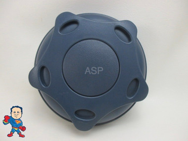 "5"" Dynasty Blue Diverter Valve Handle Spa Hot Tub Knob Revo Style  7/16"" Square Hole"