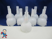 "Set of (10) 5"" Jet Pentair Diffuser Cyclone Series Hot Tub Spa Video How To Part"