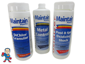 Spa Guy Chemical Kit Chlorine, Metal Control and Non Chlorine Shock..