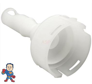 """Diffuser, Pentair,  Cyclone Micro, White, Fits Jets with Faces 3"""" to 3 1/4"""" Wide"""