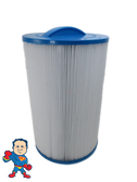 "Filter, Cartridge Filter 9-1/4"" Tall x 6"" Wide 2"" mpt 40sqft Master Spa Twilight &  Legend Series"