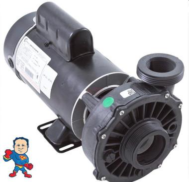 """Hi-Flo, Pump, Waterway, 1.0HP called 3.0hp, 230v, 2-Speed, 48 frame, 2"""" X  2"""""""