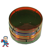"Red, Blue, Green, Amber, Purple 3 1/4"" Lens Cover for Spa Hot Tub Light Video How To"