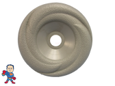 """LA Spa Diverter Cap 3 15/16"""" Wide Gray Swirl Buttress Style How To Video"""