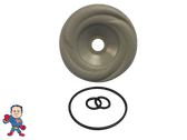 """LA Spa Diverter  O-Ring & Cap Kit 3 15/16"""" Wide Gray Swirl Buttress Style How To Video"""