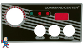 Overlay, 3-Button, Analog Topside Control, Air, Tecmark, Tridelta, Temp Display, Command Center