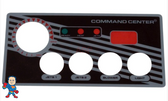 Overlay, 4-Button, Analog Topside Control, Air, Tecmark, Tridelta, Temp Display, Command Center