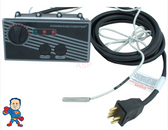 Universal Kit, 2,3 or 4 Button, NO Temp Display, w/10' Cable & Overlay, Command Center