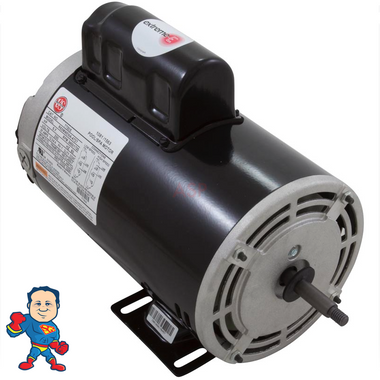 Pump Motor, US Motor, 4.0hp, 230v, 2 Speed, 56 Y Frame, 12 Amp