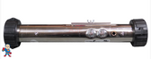 "Heater, Flo Thru, Jacuzzi® Premium, J-200 Series, 15"" x 2"", 230v, 4.0kW, with Pinch Plate"