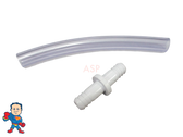 "Connection Kit,  3/8"" Tubing, 1/2"" OD,  6"" length for Air Systems or Jet Body Air Connections"