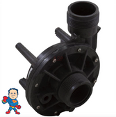 """Circ-Master, Pump, Wet End, Aqua-Flo, CMHP, 1/15th , 1-1/2"""", 48 frame, 0.6A/230V, 1.3A/115v  The Suction and Pressure sides both Measure about 2-3/8"""" Across the threads and is called 1 ½""""!"""