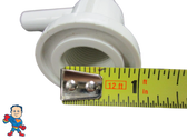 """Air Injector Jet Body 3/8"""" Barb Accepts 3/4"""" Thread in Injector Part with 1 1/4"""" Face"""