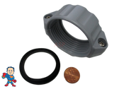 """2"""" Thread Split Nut Kit for Water Union with Gasket Saluspa Lay-Z-Spa™ """"A"""" Coupling for Water"""