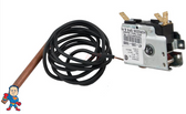 "3 Wire, Thermostat, Invensys, Hydro-Quip, Bulb Size 5/16"", 48"" Capillary Length , SPDT, 25A, Analog"