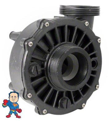 """Wet End Pump, Waterway Hi-Flo 2.0hp 2""""mbt 48fr, 230V 10.0 Amps, 115v 16.0 Amps"""