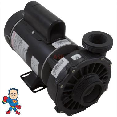 "Hi-Flo, Pump, Waterway, 1.0hp, 115v, 2-Speed, 48 frame, 2"" X  2"", 9.5/3.2 Amp"