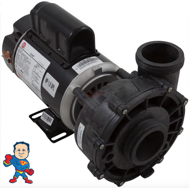 "Complete Pump, 37334, Watkins, Vendor Code 4081, Solana, Hot Spot,  Wavemaster 4000, 1.0HP, 115v, 11.0A, 48 frame, 2""x 2"", 1 or 2 Speed"