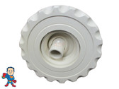"""Jet Internal, Waterway, Poly Jet, 4-3/16"""" face diameter, Roto, Deluxe Scallop, White"""