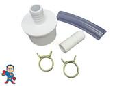 "Barb Adapter, 3/4"" Barb x 2"" Spigot to 3/4"" x 3/4"" Barb Kit, Fits 2"" Slip Water Manifolds"