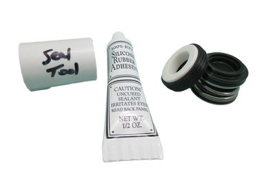 Pump Seal Kit with Silicon , Watkins, Piranha, Vendor Code 0108, 1.65hp, Wavemaster 7000