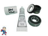 Pump Seal & (1) Bearing Kit with Silicon , Watkins, Piranha, Vendor Code 0108, 1.65hp, Wavemaster 7000