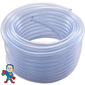 """Air or Water Tubing, Vinyl, 1/4""""id x 3/8""""od, 50ft Roll"""
