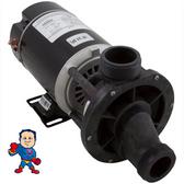 """Garden Tub Pump, Bath, Aqua-Flo, Tub-Master, TMCP, 10.0A, 115v, 1-1/2"""", w/Rubber Foot Pad"""