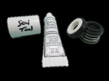 Pump Seal Kit with Silicon , Watkins, Vico, Vendor Code 0302, 1.65hp, Wavemaster