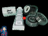 Pump Seal & (2) Bearing Kit with Silicon , Watkins, Piranha, Vendor Code 0302, 1.65hp, Wavemaster
