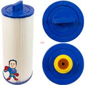 """Filter, Cartridge, 30sqft, 1-1/4"""" Female SAE Thread, 4-3/4"""" Wide, 11-3/8"""" Tall"""
