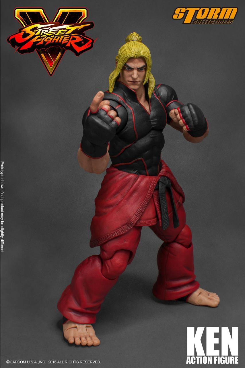 Ken Street Fighter V Storm Collectibles Hobbyholics