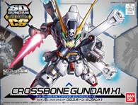 #002 Crossbone Gundan X1 (SDCS Gundam)