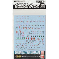 #111 Gundam Astray Red Frame [RG] (Gundam Decal)