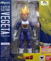 S.H.Figuarts Super Saiyan Vegeta {Premium Color} (Dragon Ball Z)