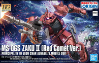 #024 Char's Zaku II (Red Comet Ver.) [The Origin] (HG)