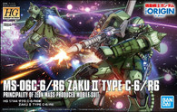 #025 Zaku II (Type. C-6/R6) [The Origin] (HG)