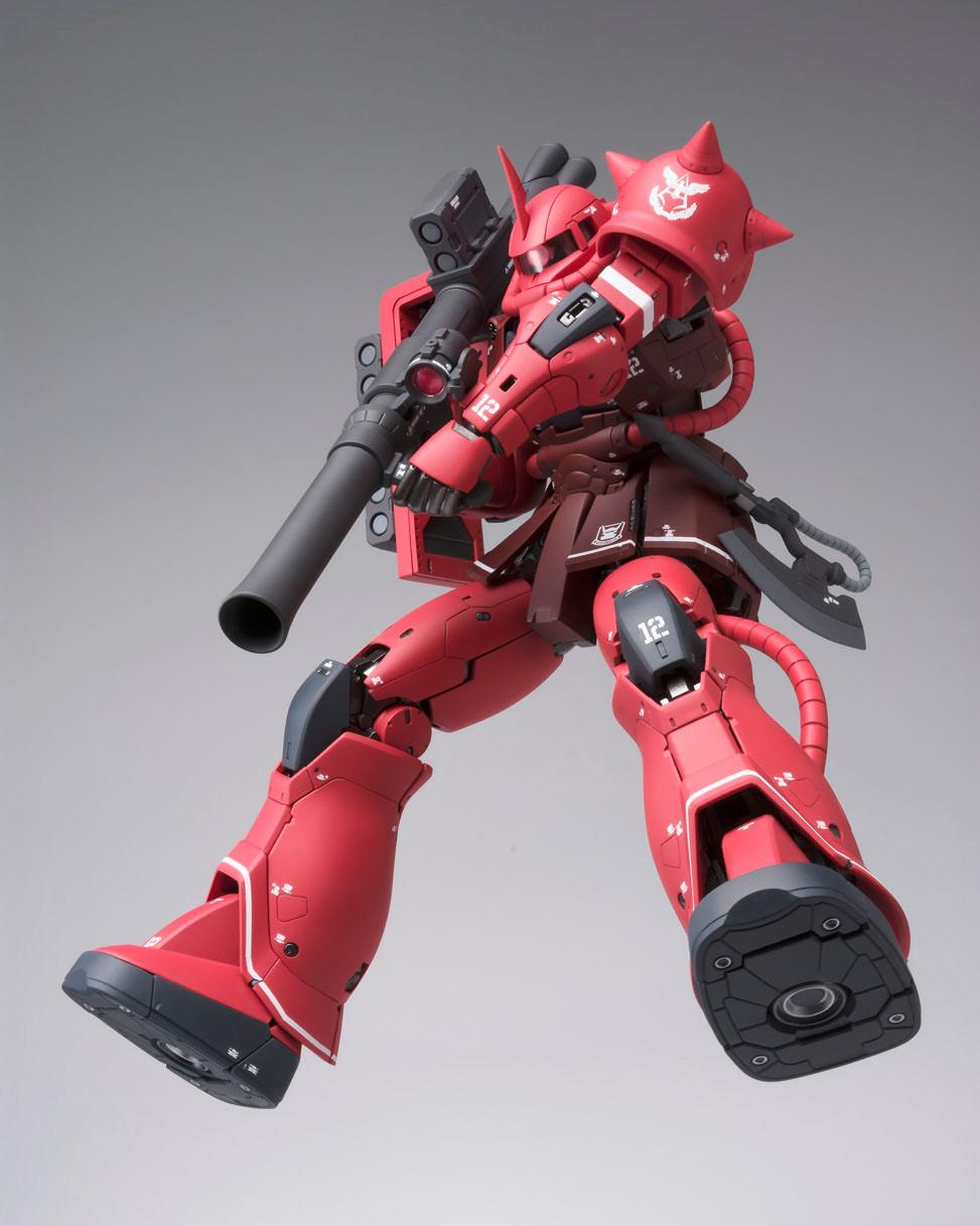 Gundam TV 40th Anniversary Vanity Glasses Char/'s Zaku II model