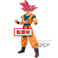Super Saiyan God Goku {Choukokubuyuuden} (Banpresto) (Dragon Ball Super: Broly)