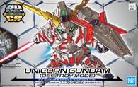 #012 RX-0 Unicorn Gundam {Destroy Mode} (SDCS Gundam)