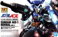 #001 Gundam AGE-1 Normal (HG AGE)